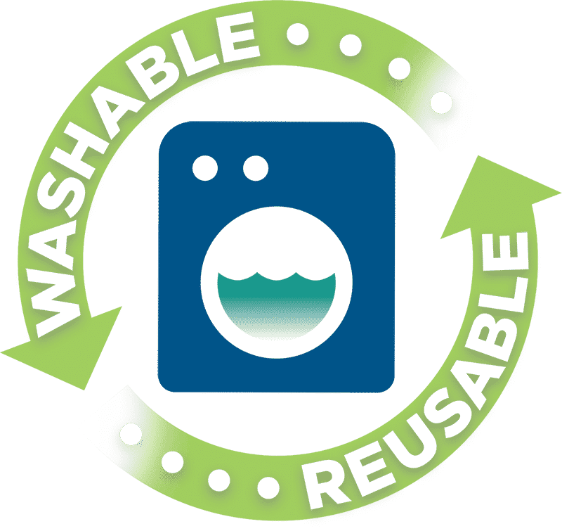 Washable & Reusable